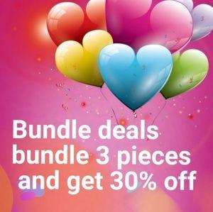 COPY - Bundle  deals Jewelry & tops sales 30% off
